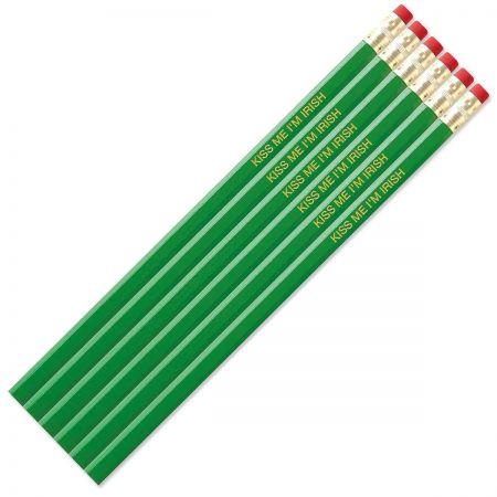 Bright Green #2 Hardwood Custom Pencils
