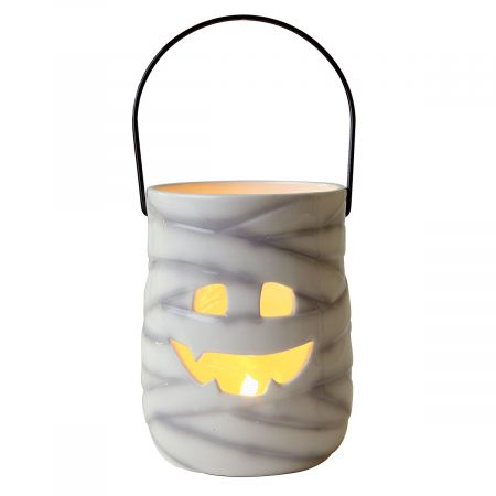 Mummy Ceramic Halloween Lantern