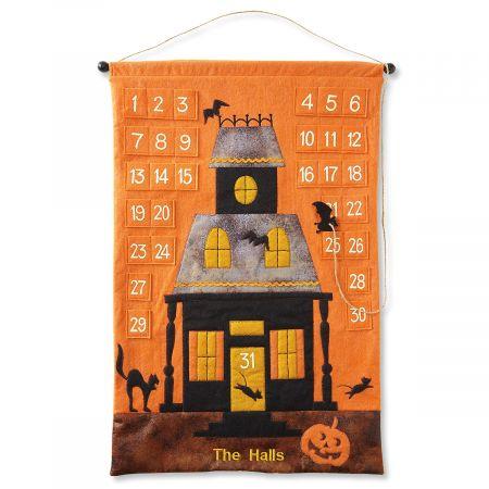 Custom Halloween Countdown Calendar Banner