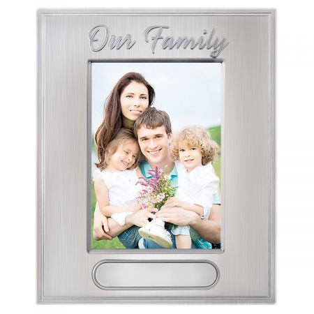 Our Family Personalized Picture Frame