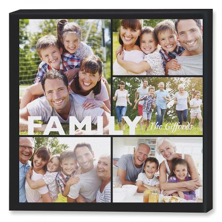 Love Collage Photo Canvas