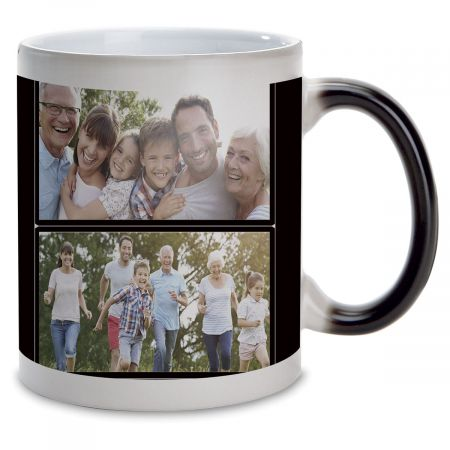 Family Name Custom Photo Mug