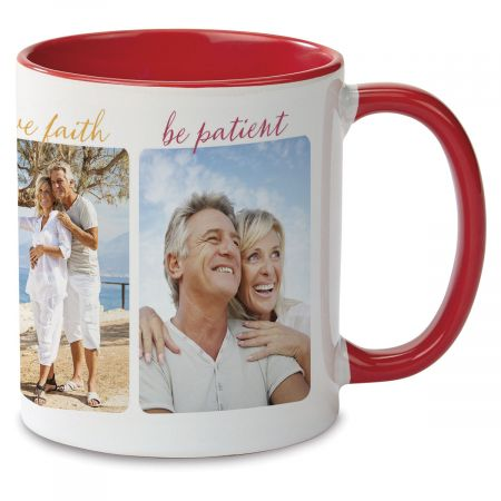 Be Brave Custom Photo Mug