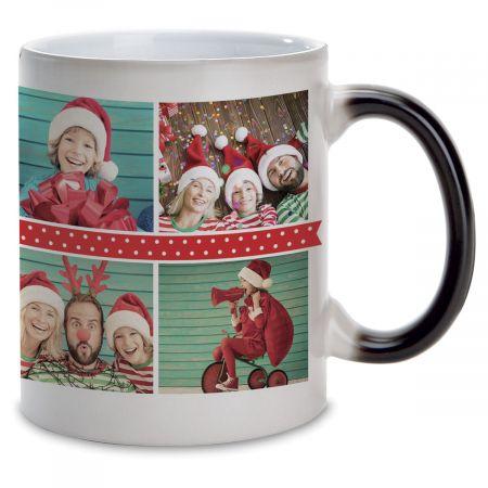 Polka Dot Custom Photo Mug