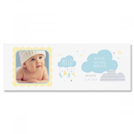 Baby Boy Custom Photo Mug