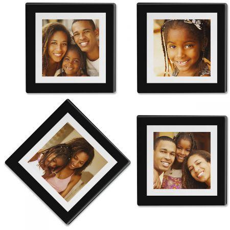Duel Frame Custom Photo Coasters
