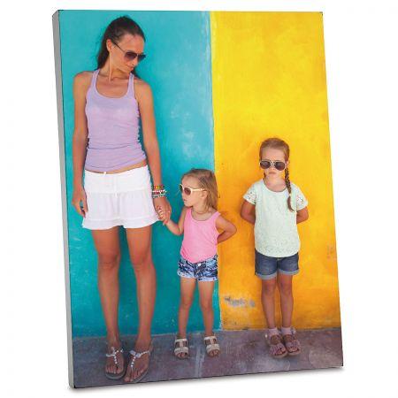 Vertical Custom Photo Plaque