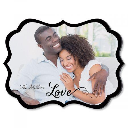 Love Family Name Benelux Custom Photo Plaque