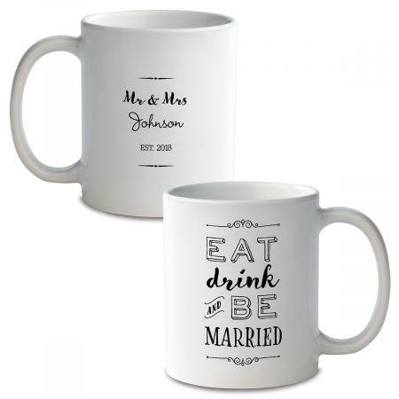 Be Married Personalized Ceramic Mug