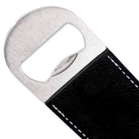 Custom Initialed Stripe Bottle Opener