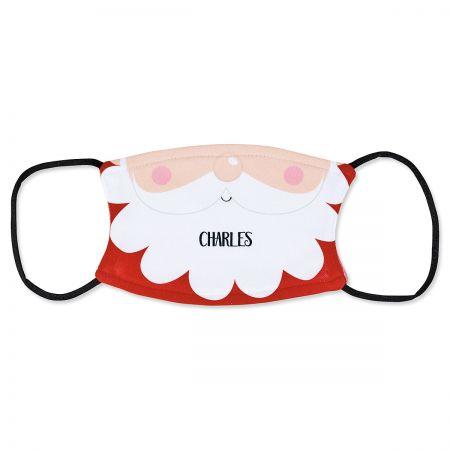 Custom Kids Santa Face Mask