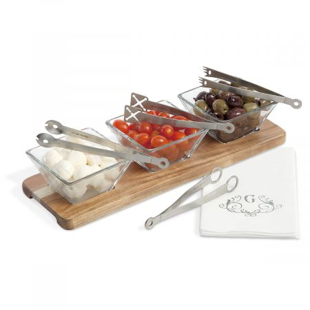Stainless Steel Appetizer Tongs