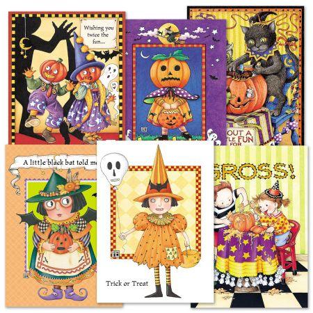 mary engelbreit halloween cards