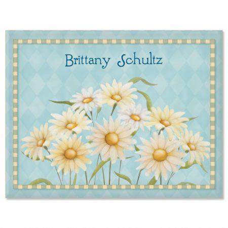 Daisy Custom Note Cards