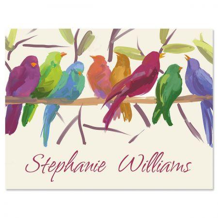 Flocked Together Note Cards - Set of 24