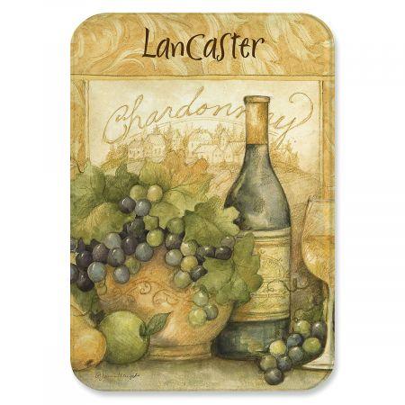 Wine Bottle Glass Cutting Board