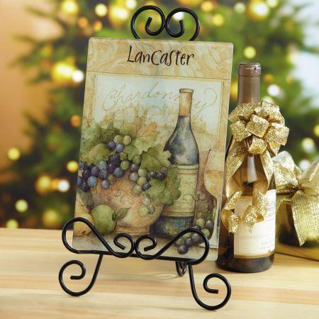 Wine Bottle Personalized Custom Cutting Board