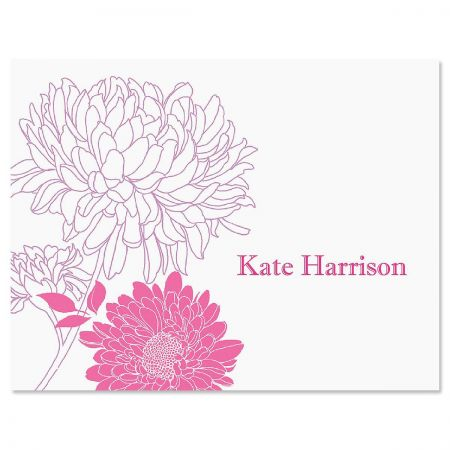 Flora Custom Note Cards
