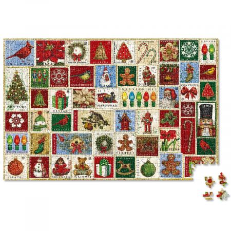 Christmas Stamps Puzzle