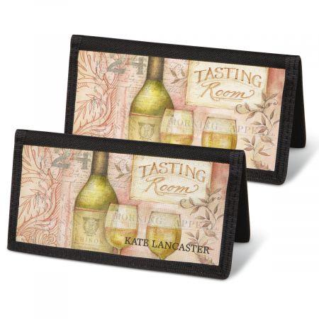 Wine Cellar Personal Checkbook Covers