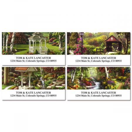 Peaceful Moments  Deluxe Return Address Labels  (4 Designs)