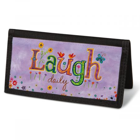 Happy Thoughts Checkbook Cover - Non-Personalized