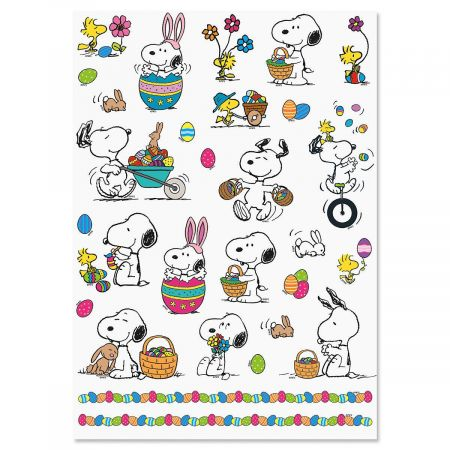Snoopy™ Easter Stickers