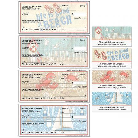 Coastal Single Checks with Matching Address Labels