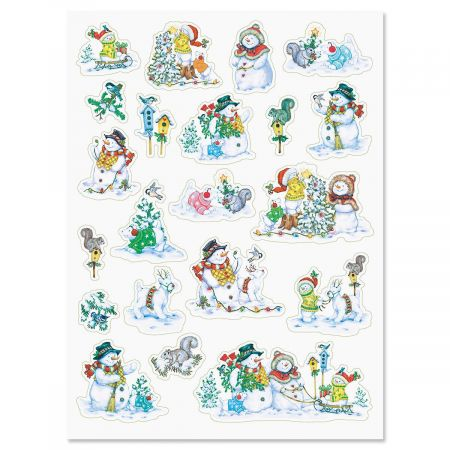 Snowman Fun Stickers