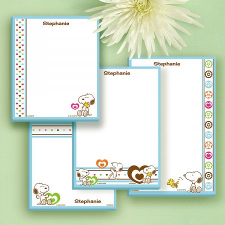 Love PEANUTS® Personalized Notepads