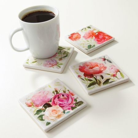 Flower Studies Coasters