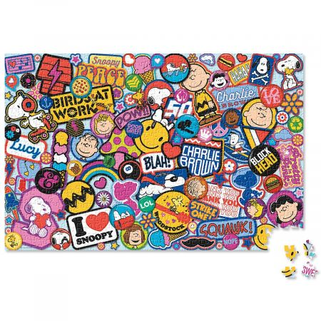 PEANUTS® Patches Jigsaw Puzzle