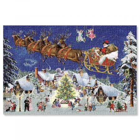 Flying Santa Puzzle
