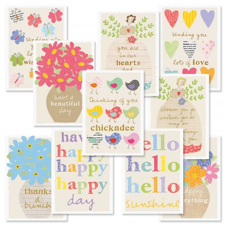 Sandra Magsamen Friendship Greeting Cards Value Pack