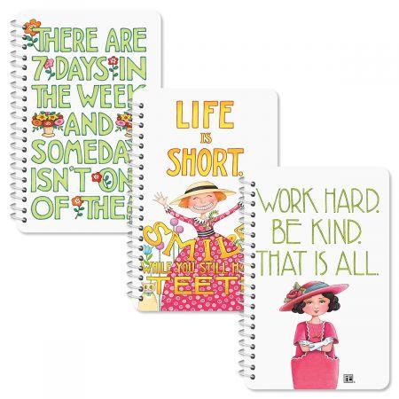 Mary Engelbreit Spiral-Bound Notepads - Buy 1 Get 1 Free