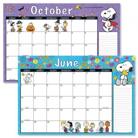 2020-2021 PEANUTS® Calendar Pad
