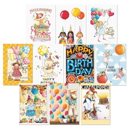 Bright Birthday Greeting Cards Value Pack