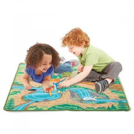 Dinosaur Playground Rug by Melissa & Doug®