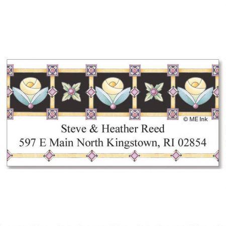 Royal Rose Deluxe Return Address Labels