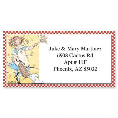 Like Whatever... Border Return Address Labels