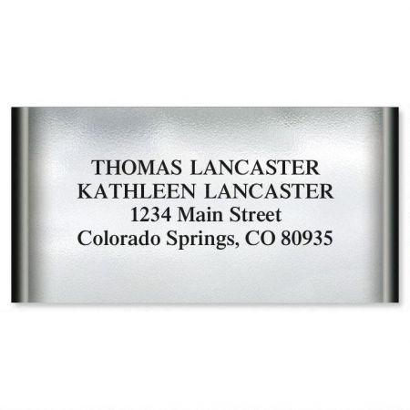 Mercury Magic Border Return Address Labels