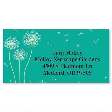 Dandelion Border Address Labels