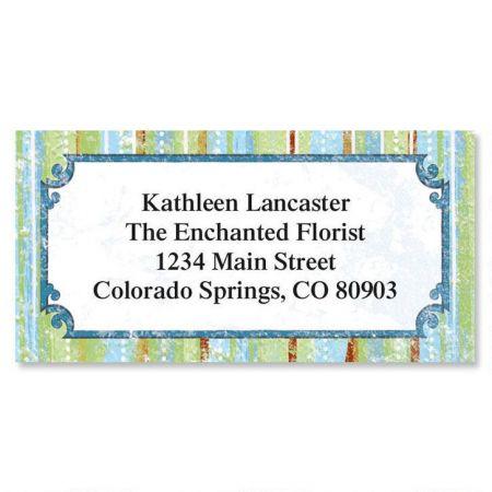 Letraset II Border Return Address Labels