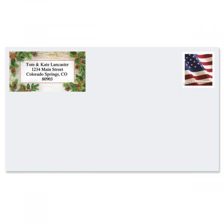 Woodland Whimsy Border Return Address Labels