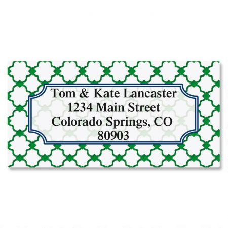 Freshwater Border Return Address Labels