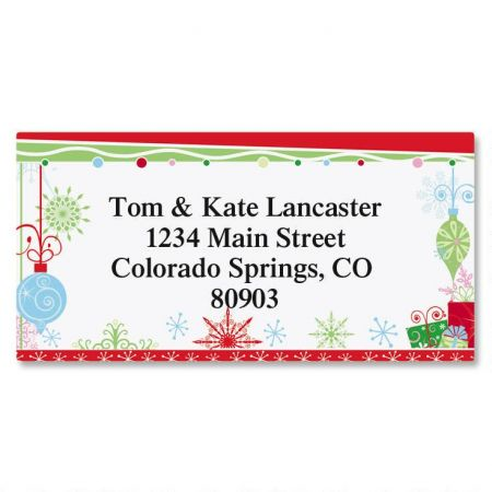 Twinkles Border Address Labels