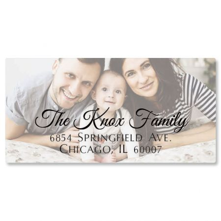 Personalized Full Photo Border Address Label