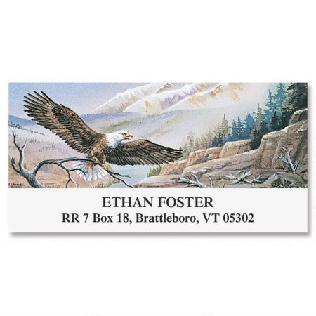 Eagle  Deluxe Return Address Labels
