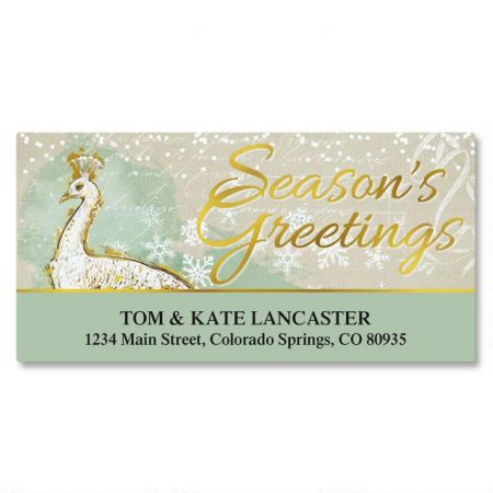 Majestic Deluxe Return Address Labels