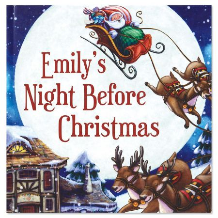 My Night Before Christmas Custom Storybook